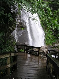 High Shoals Trail, South Mountains State Park, North Carolina