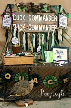 Duck Dynasty inspired birthday party