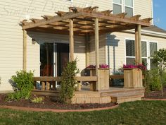 Beautiful Deck and Pergola!  from Simply Designing