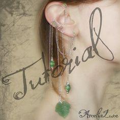 Complete Tutorial Faerie Ear Cuff & Bohemian Wrap by AmeliaLune