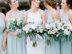 Living for these bridesmaids bouquets       #bridesmaids #weddingparty #bridalsquad #bridalparty #bridesmaidsdresses #bouquets #weddingbouquet #bridesmaidsbouquets #smpweddings #sanfranciscoweddingphotographer #theknot #halfmoonbaywedding