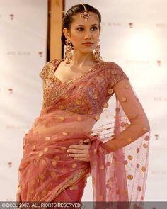 RK mesh saree