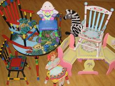 Hand painted children's furniture