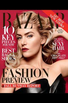 Kate Winslet is BAZAAR's June/July cover
