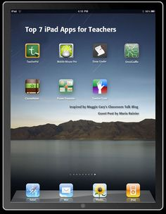Top 7 iPad Apps for Teachers (click to see @thinglinked version)