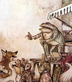 aesops fables illustrations