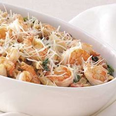 Shrimp and Penne Supper Recipe... An oldie but a goodie! It always turns out great! (healthy too)