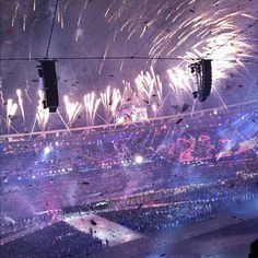 The 2012 London Olympic Games are officially closed. #NBCOlympics  (Photo: Anthony Quintano / NBC News)