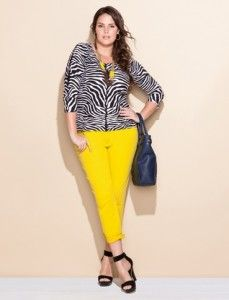 animals, plus size, colors, size fashion, outfit, animal prints, eloquii, curv, bright yellow