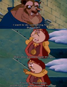 This is my favorite part in Beauty and the Beast...