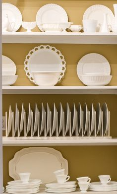 Love white dishes, you can mix and match with so much!