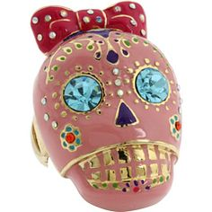 Day of the Dead ring! Betsey Johnson $50