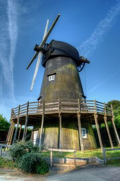 No Wind, No Sails - Bursledon Windmill, UK