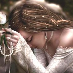 make believe, god, art photography, pearls, deep thoughts, beauti, prayers, hair, father