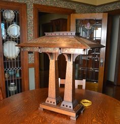 Arts And Crafts Homes | Ragsdale Arts and Crafts Lamps & Limbert Tables