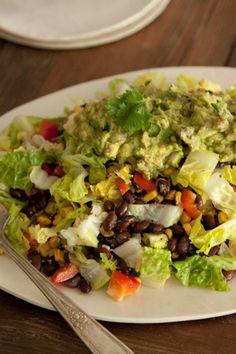 Cowboy Caviar Chopped Salad