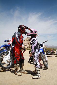 kiss cute desert dirt bikes