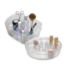 Textured Plastic Cosmetic Trays - Bed Bath & Beyond