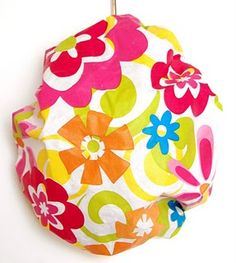 DIY Shower Cap. Also cute, also want this, espcecially since my giant head doesn't fit well in the store-bought ones.