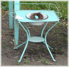 vintag dri, wash stand, classroom decor, shabbi chic, vintag child, antiqu classroom, toilett set, basin set