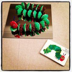Very Hungry Caterpillar cupcakes
