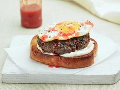 Sunny Side Up Burger #UltimateComfortFood