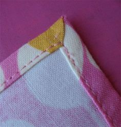 cloth napkins tutorial