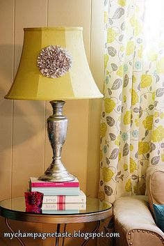 Painting the lampshade to match any color you want
