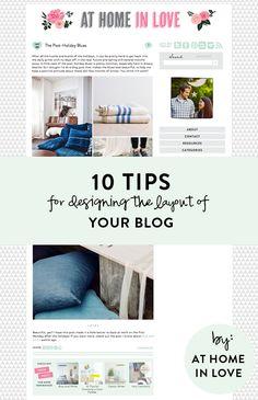 10 Tips for Designing a Blog