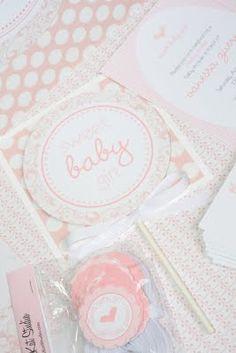 Pretty in Pink Baby Shower Designs!