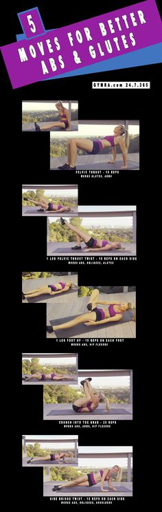 Never seen these exercises before so I will give it a try! - #Glutes #fitness  Find Cool Fitness Gadgets via www.MegaFitness.com