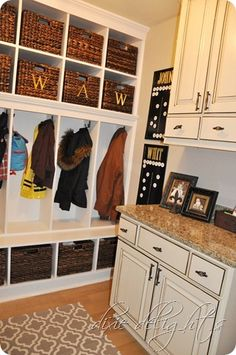 Mudroom Built-ins Be