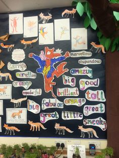 Forest classroom (Fantastic Mr Fox's Forest Topic)