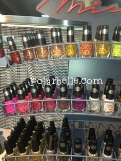 Sation Glitter Nail Polish - overview of CosmoprofLV