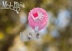A cute badge reel for a co-worker or friend