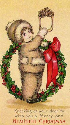 Vintage Christmas Images   Public Domain   Condition Free