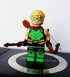 New 52 Green Arrow Lego by 1upLego
