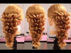 ▶ Причёска с помощью резинок - Красота! - 2 (другой вариант) - YouTube