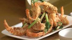 Bizarre Foods in the Kitchen: Crispy Salt & Pepper Shrimp