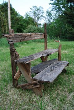 driftwood plant stand @Matthew Addonizio Arehart