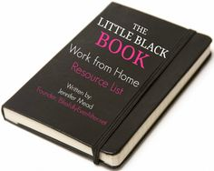 The Little Black Book- A Work From Home  & Blogging Resource List at BlissfullyEverAfter.net