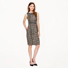 Pepper tweed dress