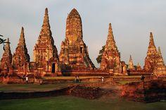 Ayutthaya Temples, Thailand