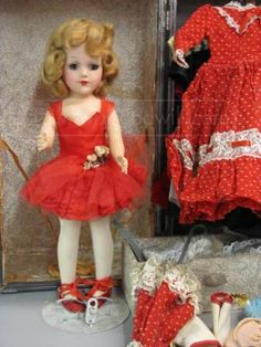 Mary Hoyer Doll with Clothing