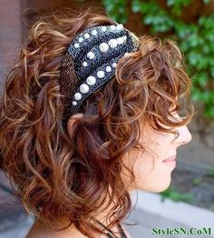 Short Cuts for Curly Hair 2014 | StyleSN