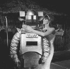 Just a girl in love with a robot.