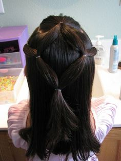 tons of simple easy cool hair styles for lil girls