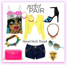 summer fashion comic neon black - Google Search