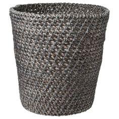 Threshold™ Bath Wastebasket - Gray