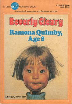 Illustrator?  I love this cover! Ramona Quimby, Age 8 by Beverly Cleary.